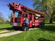 Tom Williams and the Sudbury T-4 Drill Rig