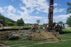 Working on the Geothermal Field